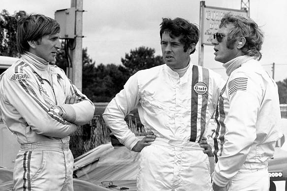Steve McQueen Derek Bell LE Mans film