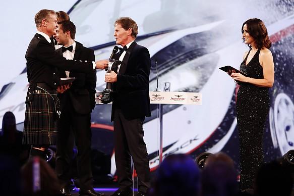 Malcolm Wilson M-Sport Autosport Awards 2017