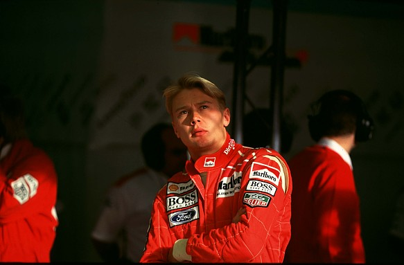 Mika Hakkinen in 1993