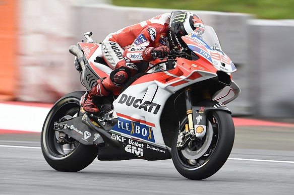 Jorge Lorenzo Ducati Red Bull Ring MotoGP 2017