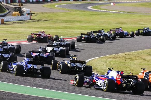 Japanese Grand Prix 2017 start