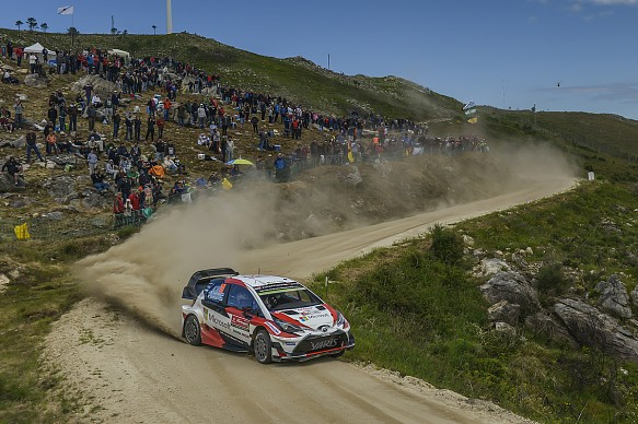 Jari-Matti Latvala Toyota WRC Portugal 2017