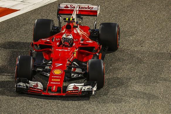 Kimi Raikkonen Ferrari F1 2017 Bahrain