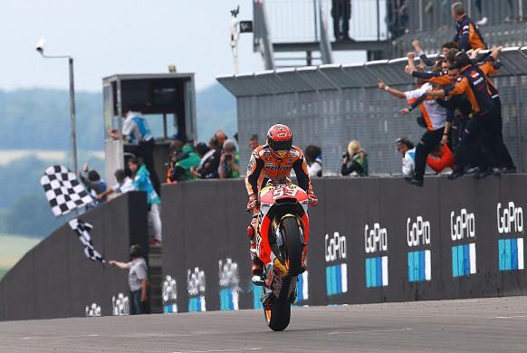 Marc Marquez Honda Sachsenring MotoGP 2017