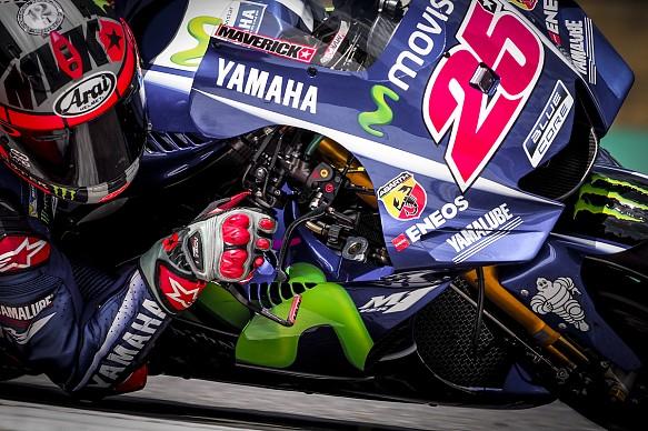 Maverick Vinales Yamaha Brno MotoGP test new fairing