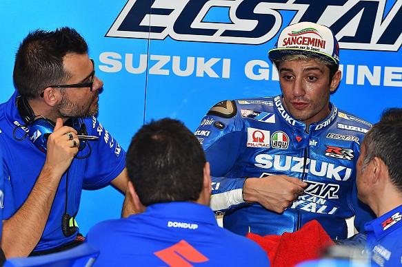 Andrea Iannone Suzuki MotoGP testing 2017