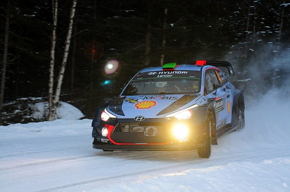 Paddon, Rally Sweden