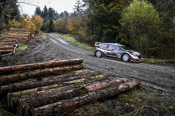 Elfyn Evans Rally GB 2017