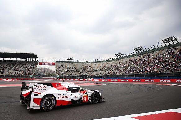 Toyota Mexico City WEC 2017