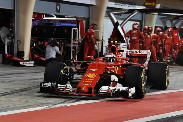 Kimi Raikkonen Ferrari Bahrain GP F1 2017