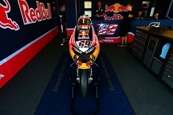 Nicky Hayden\'s Honda World Superbike