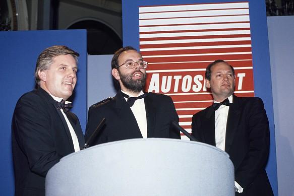 Steve Rider Peter Foubister Ron Dennis Autosport Awards