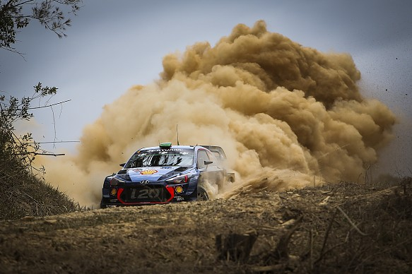 Hayden Paddon Hyundai WRC Rally Australia 2017