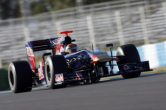 Brendon Hartley Toro Rosso F1 2009
