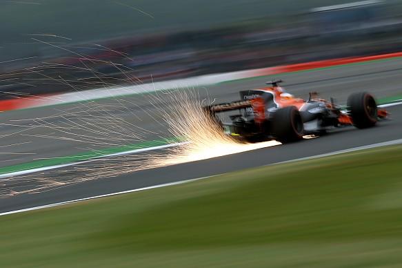 Fernando Alonso British GP McLaren 2017 F1