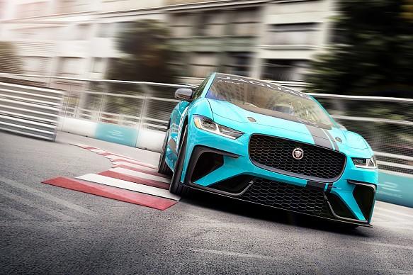 Jaguar I-PACE eTROPHY Formula E support series