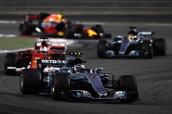 Bottas leads Bahrain GP F1 2017