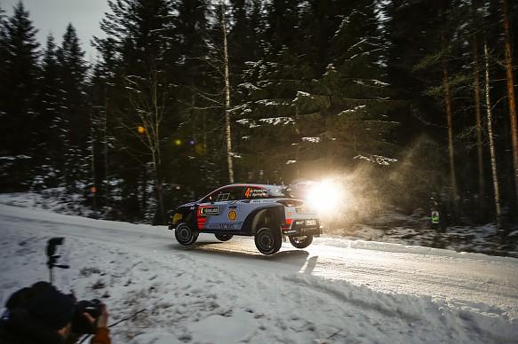 Hayden Paddon, Hyundai, WRC Rally Sweden 2017
