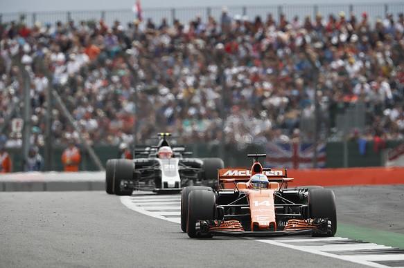 Fernando Alonso McLaren British GP 2017