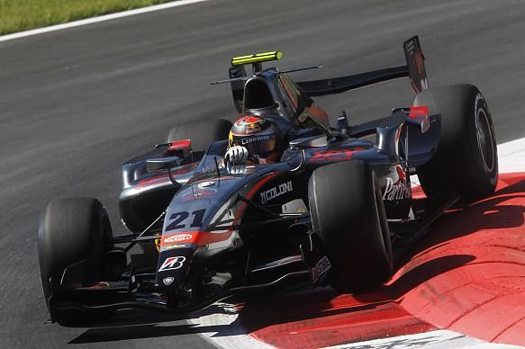 Brendon Hartley Formula Renault 3.5 2010