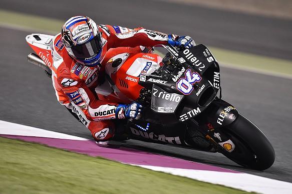 Andrea Dovizioso, Ducati, MotoGP pre-season testing Qatar 2017
