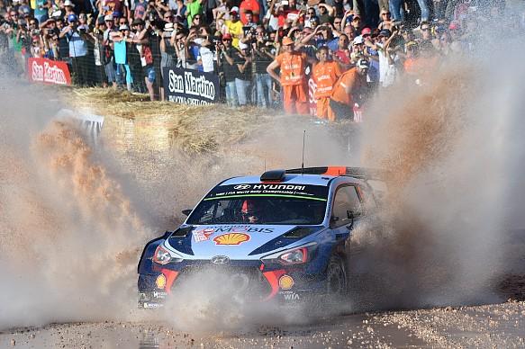 Thierry Neuville Hyundai WRC Italy 2017