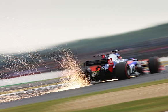 Daniil Kvyat Toro Rosso Silverstone F1 2017