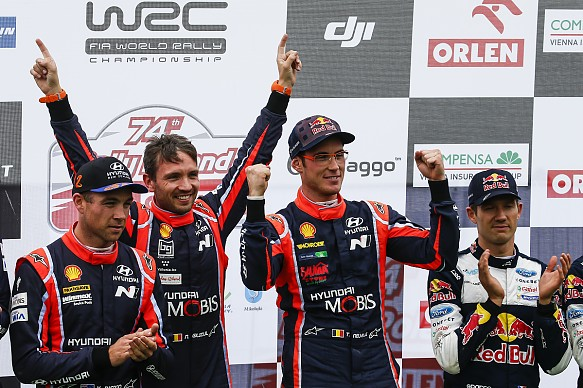 Thierry Neuville wins WRC Poland 2017