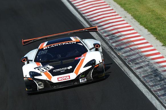 McLaren Blancpain GT 2016