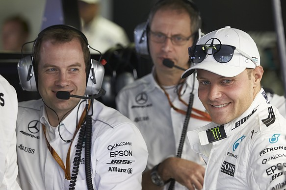 Valtteri Bottas Mercedes Italian Grand Prix 2017