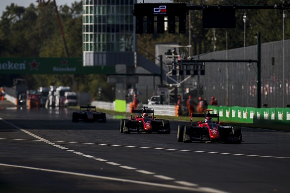 George Russell ART Monza GP3 2017