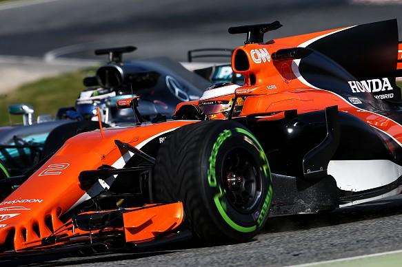 McLaren Mercedes F1 2017