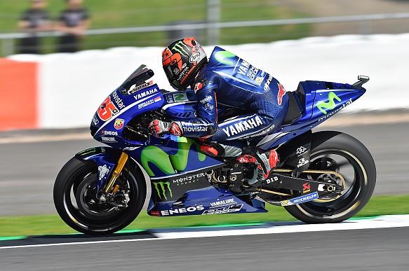 Maverick Vinales Yamaha MotoGP Silverstone 2017