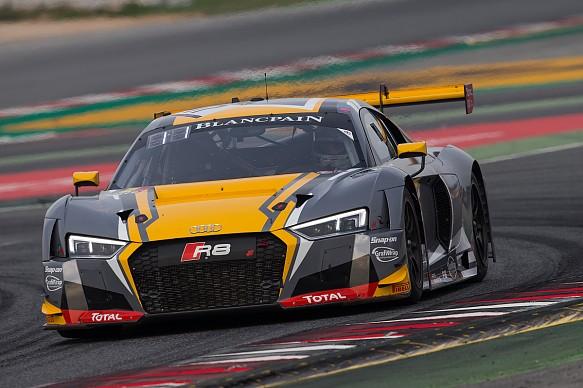 WRT Audi Robin Frijns GT Barcelona 2017