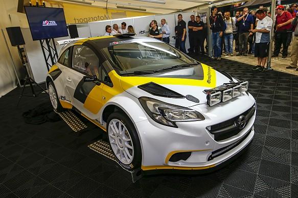 Holzer Opel R5 WRC2 car