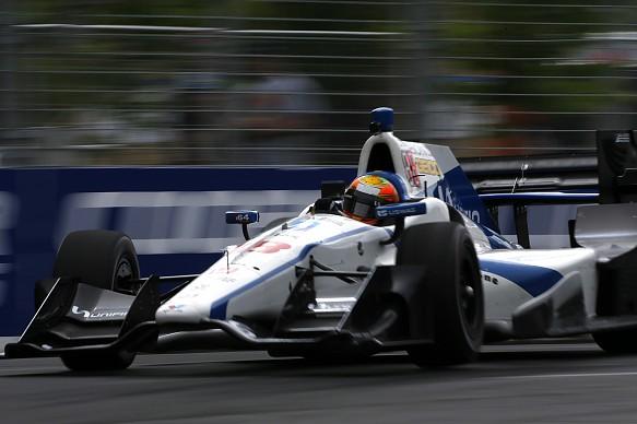 Esteban Gutierrez Toronto IndyCar 2017