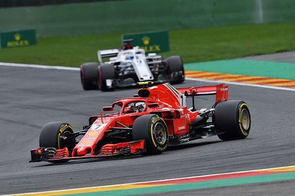 Raikkonen Ericsson Belgian Grand Prix 2018