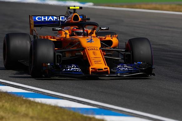 Stoffel Vandoorne McLaren F1 2018