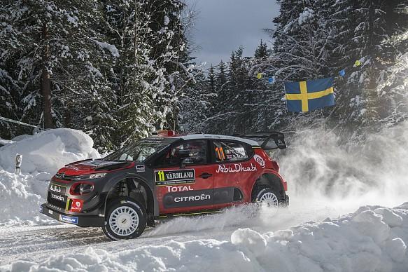 Craig Breen Citroen WRC Rally Sweden 2018