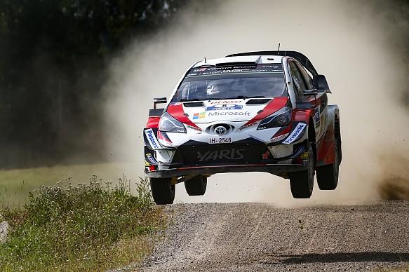 Ott Tanak Toyota Rally Finland 2018