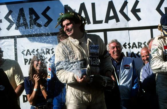 Nelson Piquet Las Vegas F1 1981