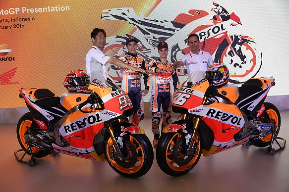 Honda 2018 MotoGP launch