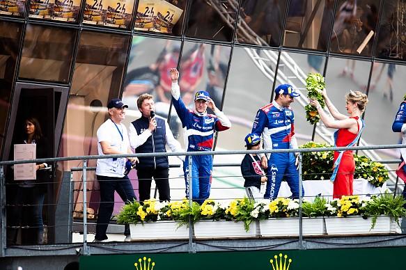 Stoffel Vandoorne Le Mans 2019