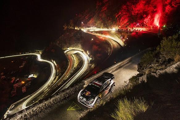 Sebastien Ogier M-Sport WRC Monte Carlo Rally 2018
