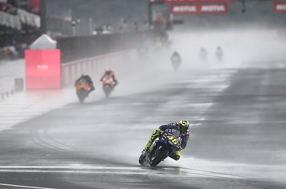 Valentino Rossi Yamaha Valencia MotoGP 2018