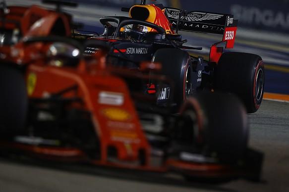 Vettel Verstappen Singapore Grand Prix 2019