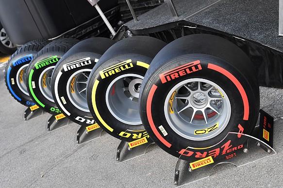 Pirelli F1 tyres 2019