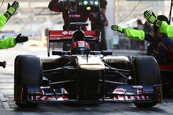 Kevin Ceccon Toro Rosso F1 test