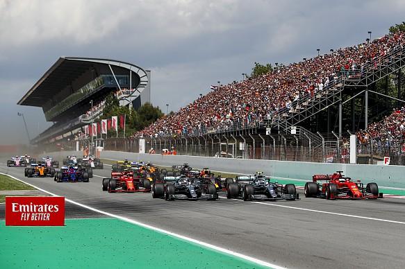 Spanish GP start 2019