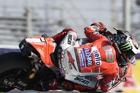 Jorge Lorenzo Ducati MotoGP Jerez 2018